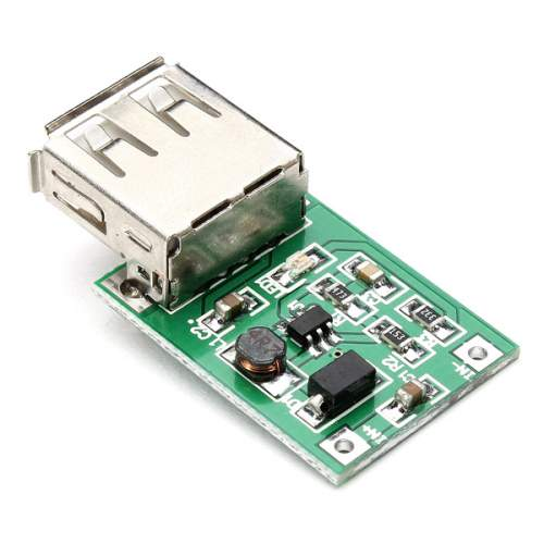 DC 3V to 5V USB Output charger Step Up Power Module Mini DC-DC Boost Converter