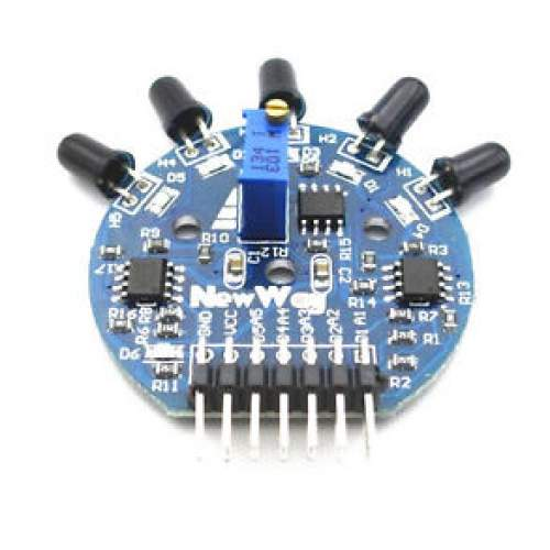 5 Way Flame Sensor Module Digital Analog Output for Arduino Raspberry pi