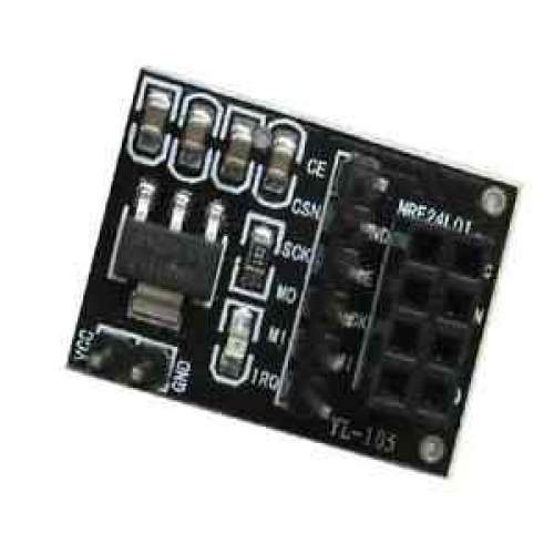 Socket Adapter plate Board for 8Pin NRF24L01 Wireless Transceive module