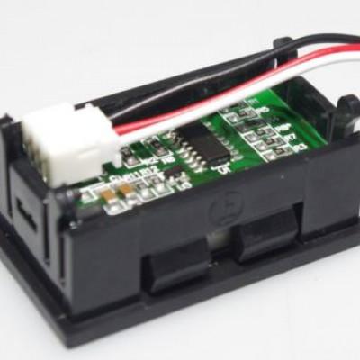 0-100V (99.9V) DC DIGITAL VOLTMETER PANEL DC .56 inch RED LED BIKE CAR