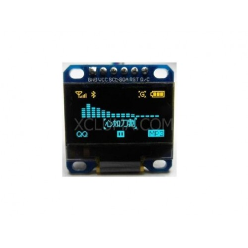 0.96 inch OLED display module 128X64 . OLED for arduino I2C IIC SPI 7p. driver chip SSD1306
