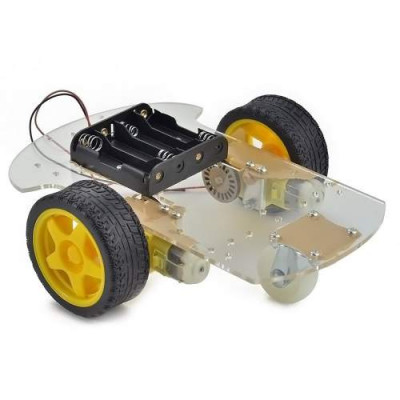 2WD Transparent Robot Smart Car Chassis for Arduino ARM OTHER