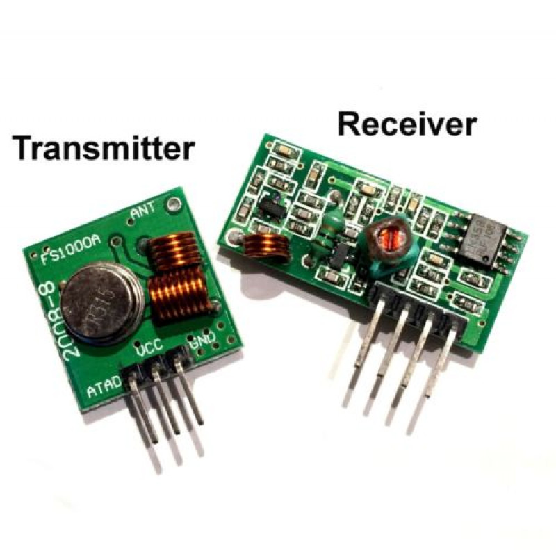 433 Mhz RF TRANSMITTER + RECEIVER MODULE LINK KIT for ARDUINO OTHERS MCU