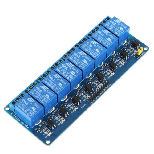 8 CHANNEL 5V RELAY BOARD EXPANSION MODULE OPTOCOUPLER ARDUINO RASPBERRY