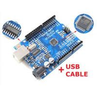 ARDUINO UNO R3 COMPATIBLE BOARD ATMEGA328P | CH340G | USB CABLE