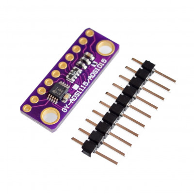 ADS1015 Ultra Small 12 Bit Precision Analog-to-Digital Converter ADC Development Board Module