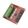 4 Channel Way Route Mosfet Button IRF540 V4.0+ Mosfet Switch Module for Arduino DC Motor Drive Dimmer Relay Board