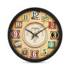 12 Inches 30Cm Designer Wall Clock for Home, Living Room, Bedroom, Kitchen (Model 2)