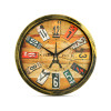 12 Inches 30Cm Designer Wall Clock for Home, Living Room, Bedroom, Kitchen (Model 4)