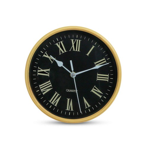 12 Inches 30Cm Wall Clock for Home, Living Room, Bedroom, Kitchen Wooden Beige Roman