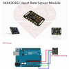 MAX30102 Upgraded MAX30100 Heart Rate Pulse Oximetry Sensor Ultra-Low Power Compatible with UNO and STM