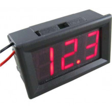 DC 4.5-30V Voltmeter 3 LED-Digital Display Volt Voltage Meter