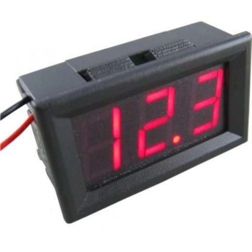 DC 4.5-30V Voltmeter 3 LED-Digital Display Volt Voltage Meter