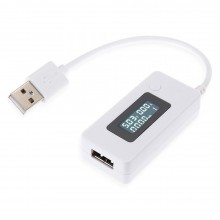 Mini LCD Digital 3 - 15V USB Charger Capacity Current Voltage Tester Meter QC2.0 For Cell Phone