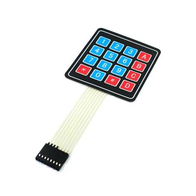 Key Module 4 * 3 4 X 3 Matrix Keyboard Extended Keyboard Membrane for UNO