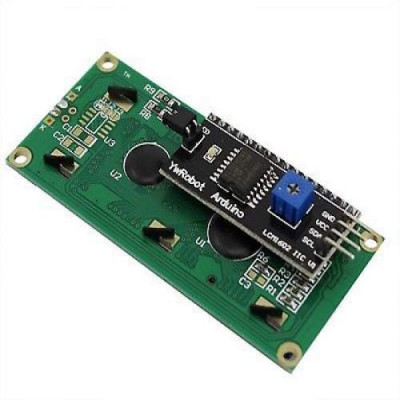 ADJUSTABLE 1602 LCD BACK LIGHT IIC/I2C/TWI/SPI SERIAL MODULE  ( LCD not Included)
