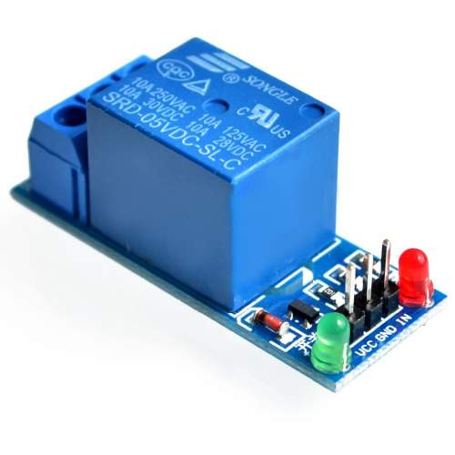 1 CHANNEL RELAY BOARD MODULE 5V LOW LEVEL TRIGGER RELAY EXPANSION BOARD