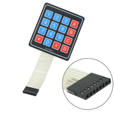 4x4 MATRIX KEYBOARD SWITCH FILM| BUTTON CONTROL PANEL | SCM EXTENDED