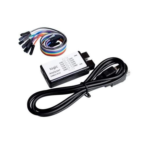 USB Logic Analyzer 24M 8CH, MCU ARM FPGA DSP debug tool
