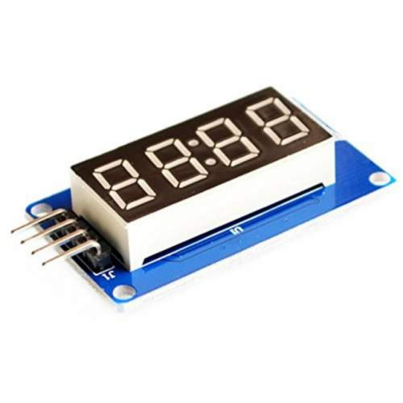 4 Bits Digital Tube Led Display Module With Clock Display Tm1637 For Arduino Raspberry Pi