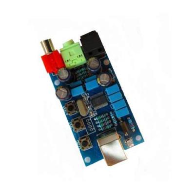 PCM2704 USB DAC Decoder Sound Card with Volume Control