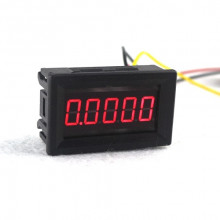 "HIGH ACCURACY 0.36"" 5 DIGITS DC 0-33.000V DIGITAL VOLTMETER RED LED"