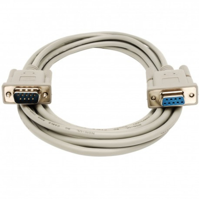 Db9 9 Pin Serial Rs232 Extension M  F Male To Female Cable