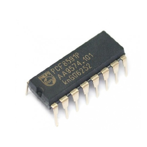 PCF8591P PHILIPS DIP-16 IC 8-bit A/D and D/A Converter