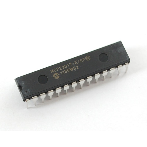 MCP23S17 I2C 16 input/output port expander 28 pin