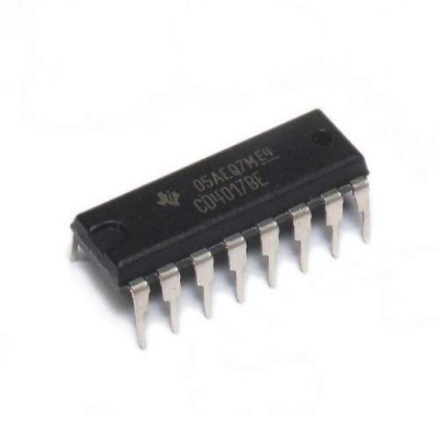 4017 CD4017BE Decade Counter with 10 Decoded Outputs