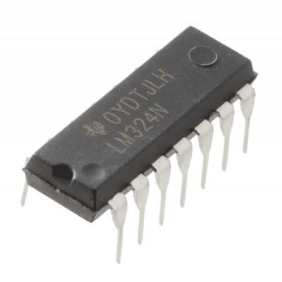 LM324 LM324N Quad Operational Amplifier