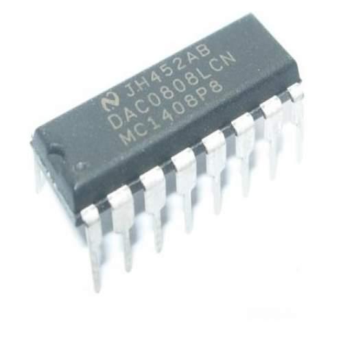 DAC0808 8 bit D/A Converter