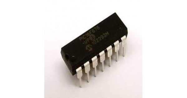Pic16f676 Flash 14 Pin 1kb Microcontroller With Adc