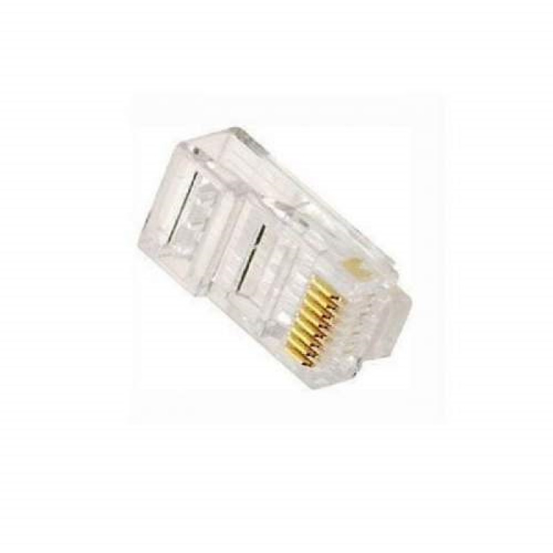 Rj45 Male Plug Lan Connector Networking