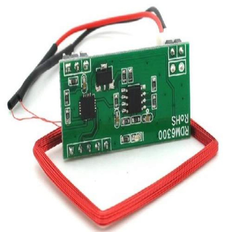 UART 125Khz EM4100 RFID Card Key ID Reader Module RDM6300 For Arduino