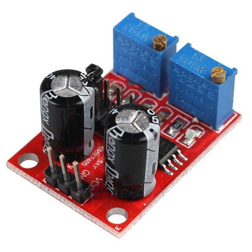 NE555 PULSE FREQUENCY | DUTY CYCLE ADJUSTABLE MODULE| SQUARERECTANGULAR WAVE SIGNAL GENERATOR