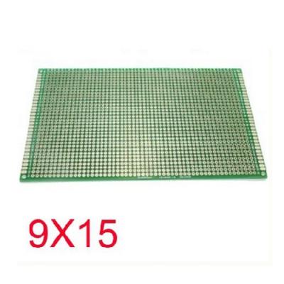 Double Side Copper Prototype Pcb   Universal Board 9 X 15 Cm