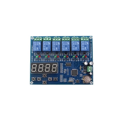 XH-M194 5WAY TIMER RELAY CONTROL MODULE