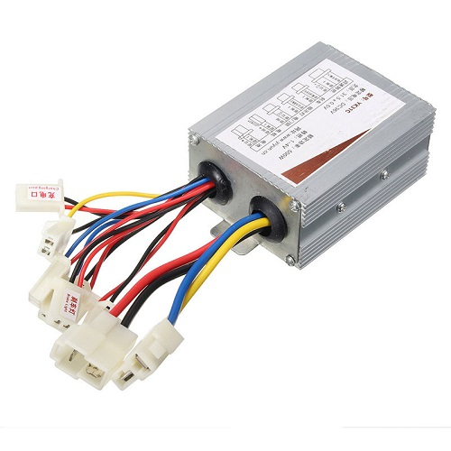 36V 500W Motor Brush Controller Speed Governor For Electric Vehicle Bike Scooter