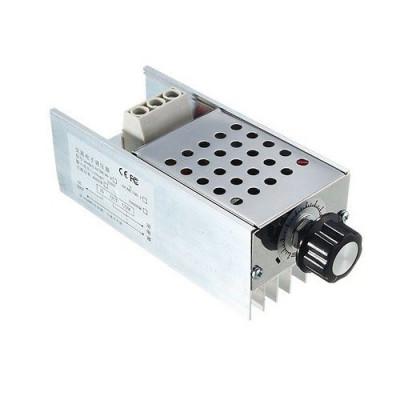 10000W SCR Voltage Regulator Speed Controller Dimmer Thermostat AC 220V