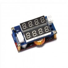 CC/CV Display Step Down 5A Adjustable Module LED Panel Volt & Ammeter