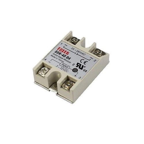 FOTEK 24V-380V 40A 250V SSR-40 DA Solid State Relay Module 3-32V DC To AC