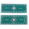 QFN32 QFN40 transfer board patch to DIP DIP 0.5mm pitch adapter plate PCB