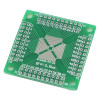 QFN / QFP / TQFP / LQFP adapter board is compatible with 16-80 DIP DIP switch board PCB