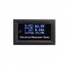 100v 10A dc combo meter bolt amp power watt capacity panel meter for monitor oled