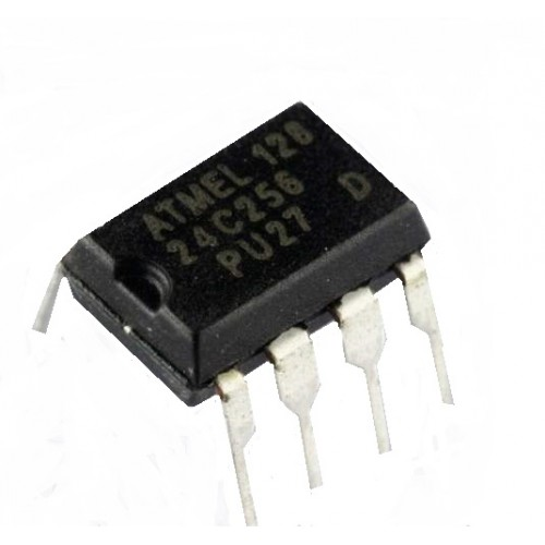 At24c256 24c256 Kbit Serial I2c Bus Eeprom on 24 volt solid state relay circuit