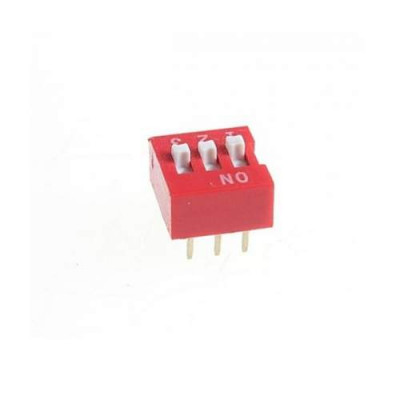 3 Positions DIP Switch
