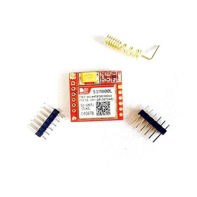 SIM800L GPRS GSM MODULE MICROSIM CARD CORE BOARD QUAD-BAND TTL SERIAL PORT
