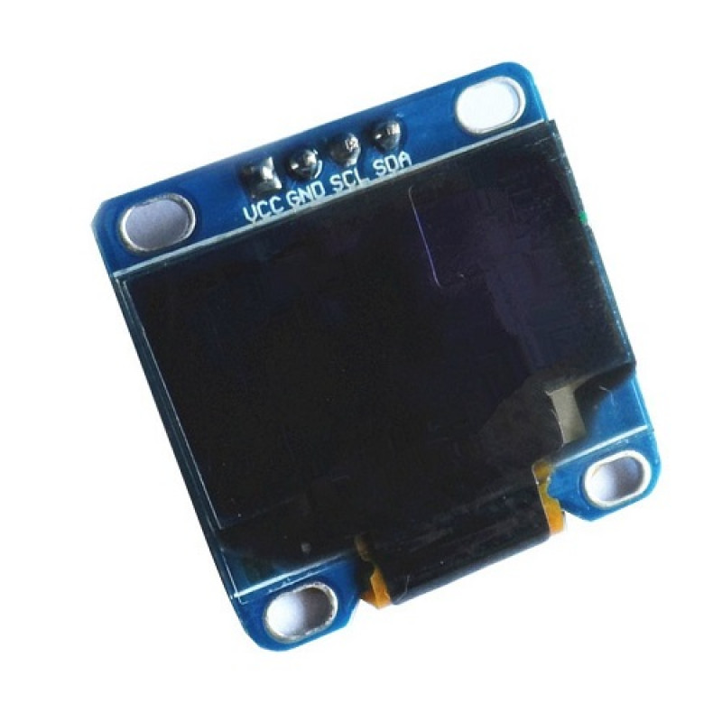 0 96 Inch Yellow And Blue Color I2c Iic Communication Oled
