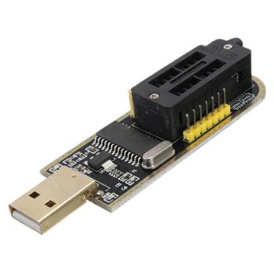USB Programmer CH341A Series Burner Chip 24 EEPROM BIOS Writer 25 SPI Flash Board